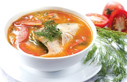 món cá diêu hồng nấu riêu