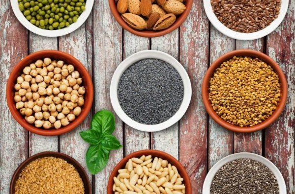 Những loại hạt ngũ cốc tốt cho sức khoẻ